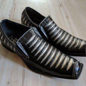 Antonio Zengara Men's Loafers Dress Shoes Italian